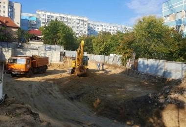 Începutul construcției photo 1