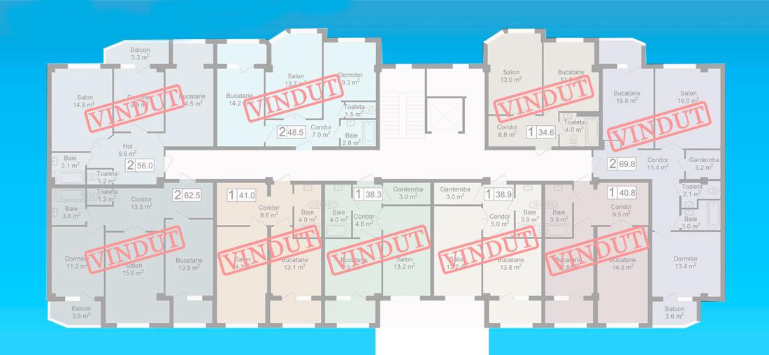 Planificarea  etaj 6 photo 6